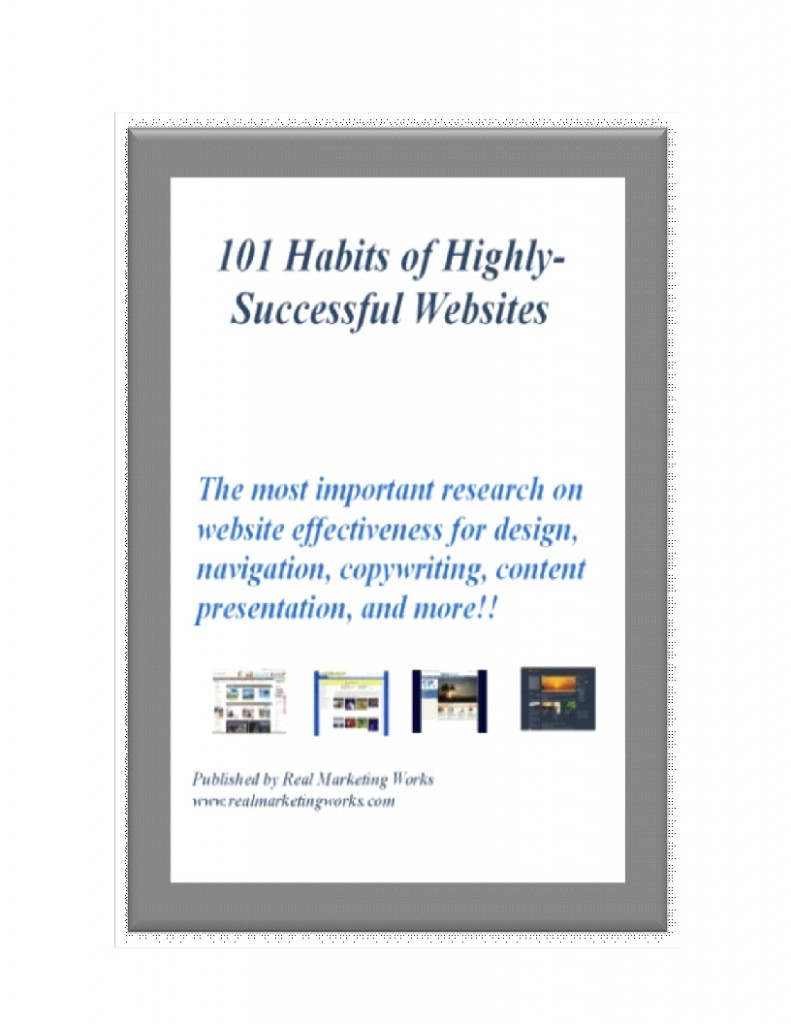 101 Habits of Highly-Successful Websites