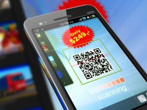 Mobile Marketing on Smart Phone with QR Code for Shopping