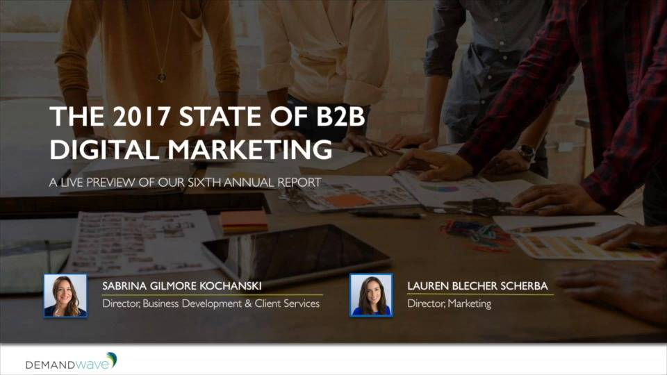 industrial b2b marketing